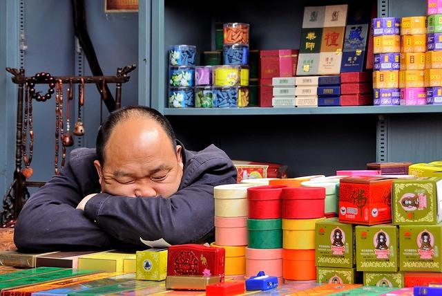 spánek prodejce