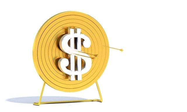 dolarový terč