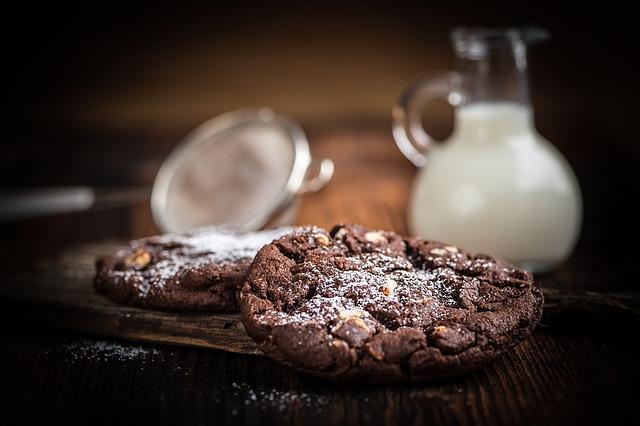 sušenka a mléko