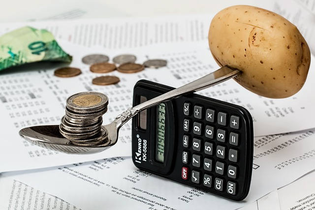 brambora a mince na lžíci