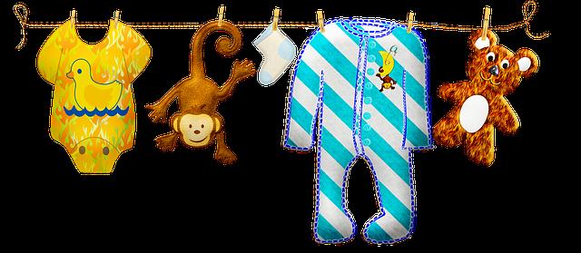 prádelní šňůra pro děti