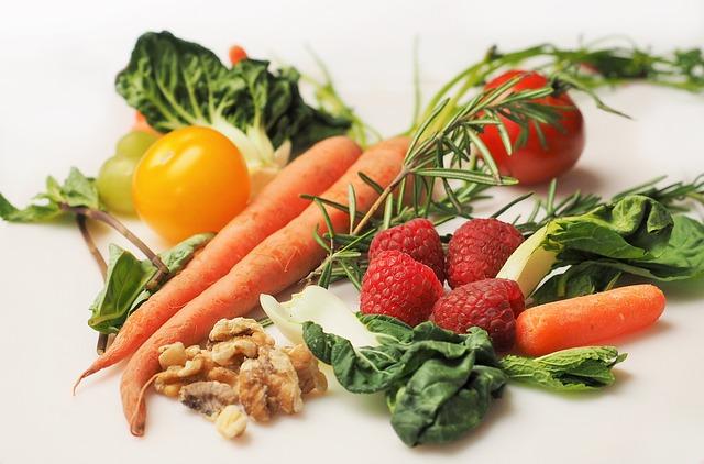 maliny u zeleniny